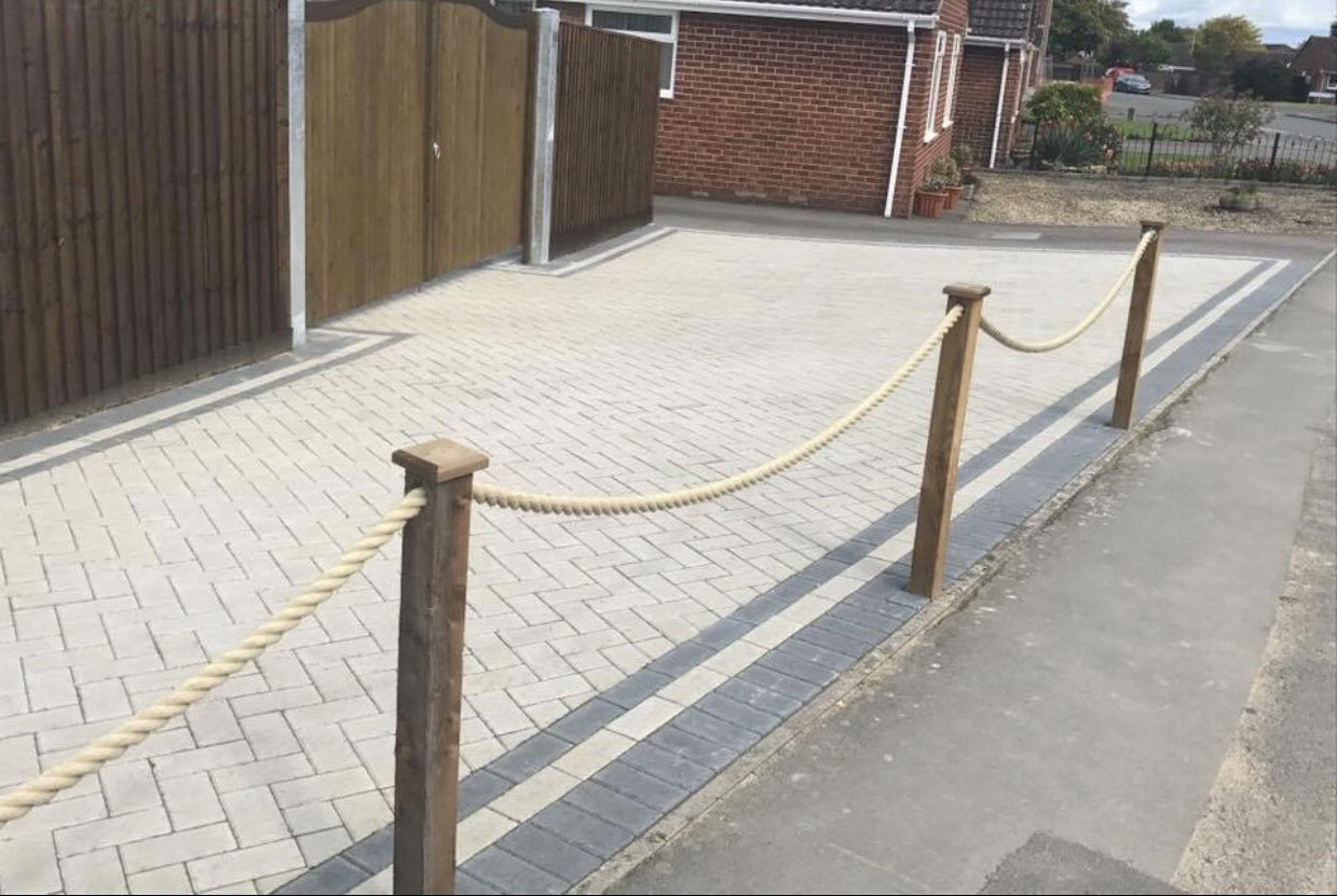 work carried out for block paved pathways in oxford