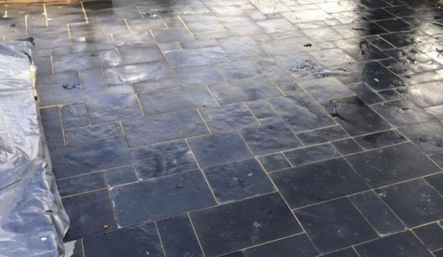 pattern imprinted concrete driveways in oxford
