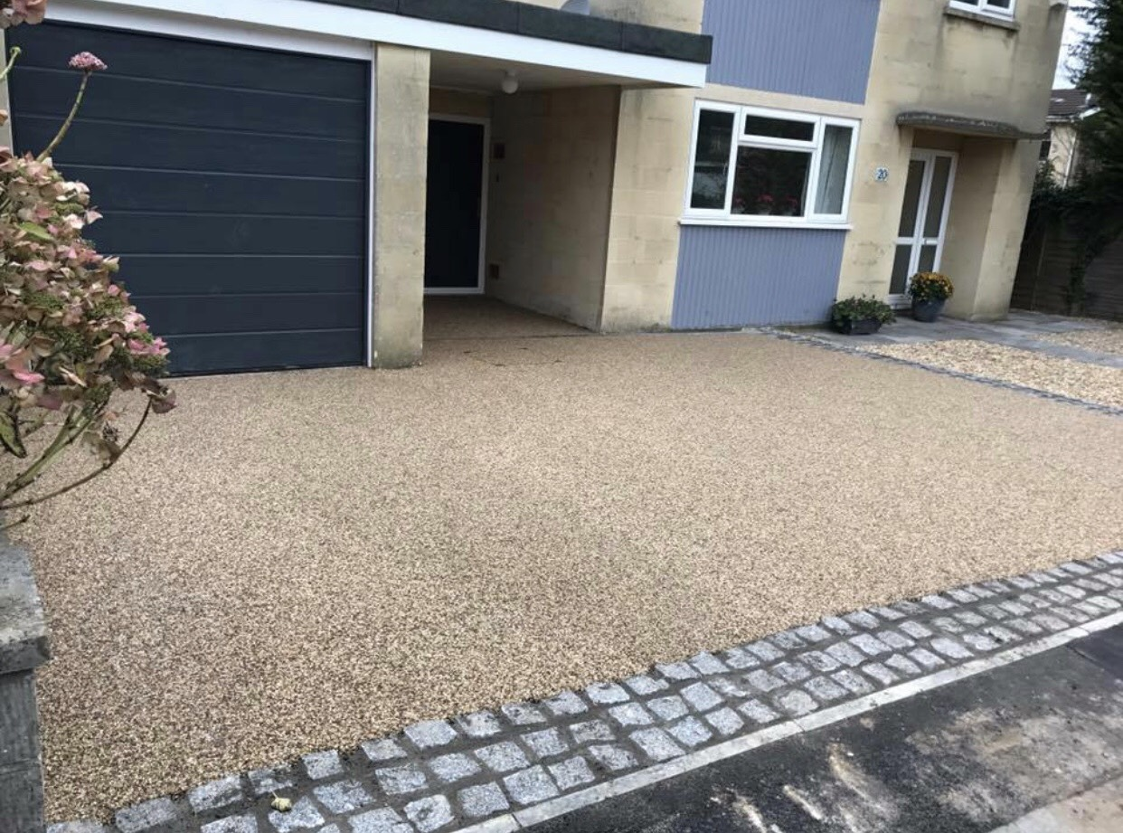 resin driveway installation in oxford